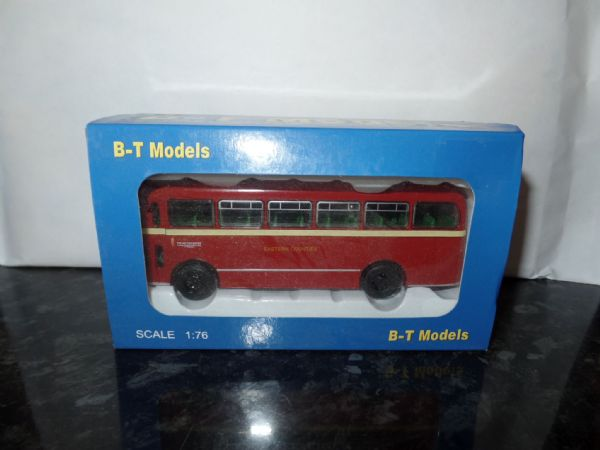 B T Models B201A Bristol MW Bus Coach Eastern Counties route 758 Cromer